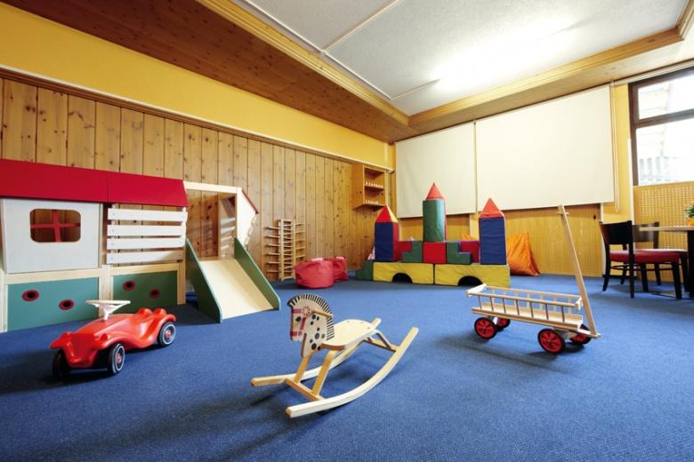 Freispielbereich für Kinder zum Toben, Hotel Lagant