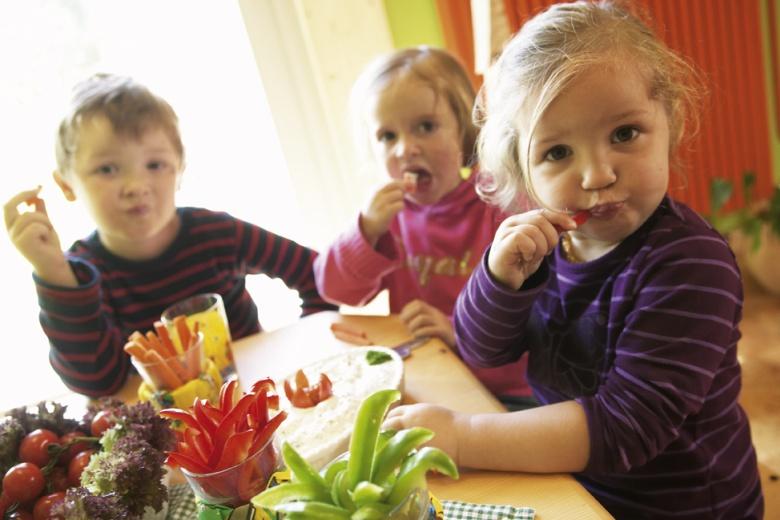 Gesundes Essen für Kleinkinder im Familienhotel Lagant