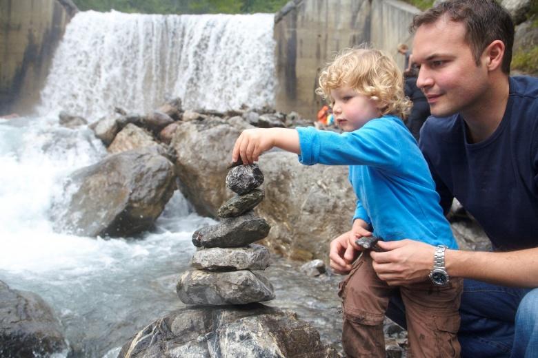 Eltern-Kind-Erlebnisse, Sommerferien, Familienhotel Lagant