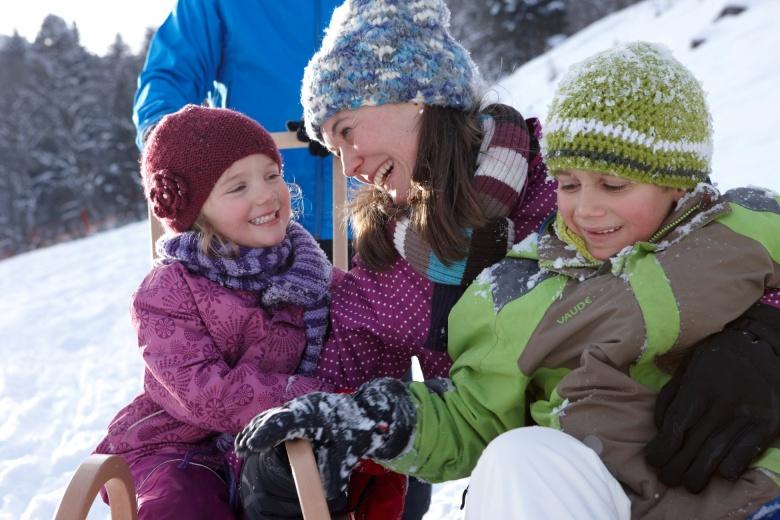 Winterurlaub im Familienhotel Lagant, Vorarlberg, Österreich