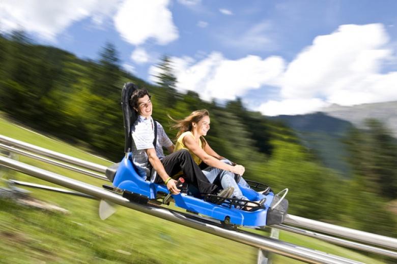 Alpine Coaster Golm, Montafon, Österreich