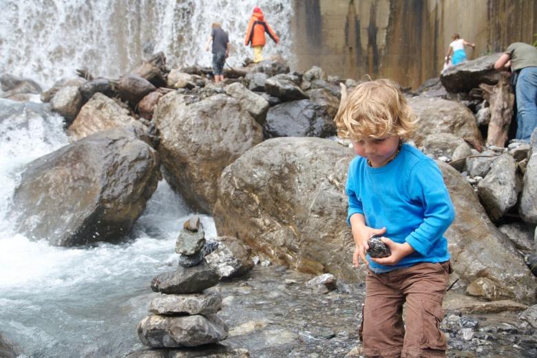 Abenteuerbaustein Wassertag in Brand, Sommerurlaub in Vorarlberg