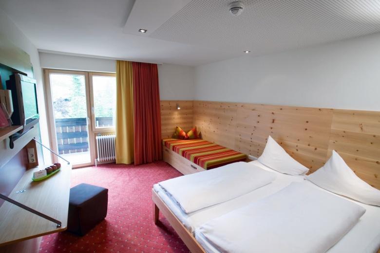 Familienzimmer Premium, Kinderhotel Lagant, Familienurlaub Brandnertal
