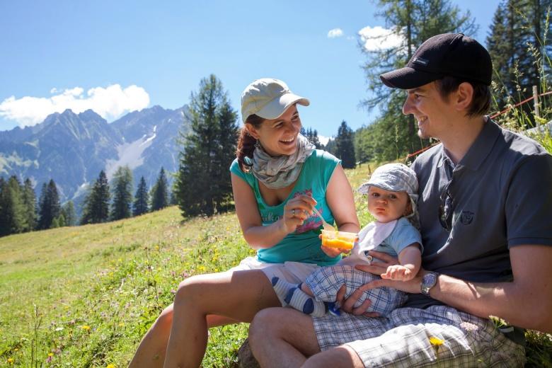 Schnullerwochen, Babyhotel Lagant, Familienferien in Vorarlberg