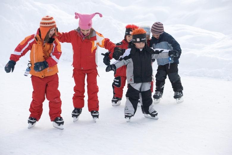 Eislaufen in Vorarlberg, Winterurlaub in Österreich