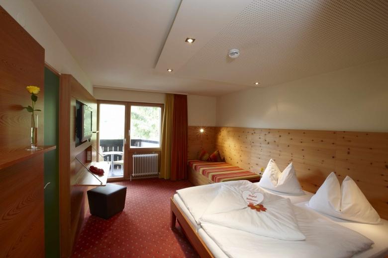Familienzimmer, 2 Schlafzimmer, Lagant, Brandnertal, Vorarlberg