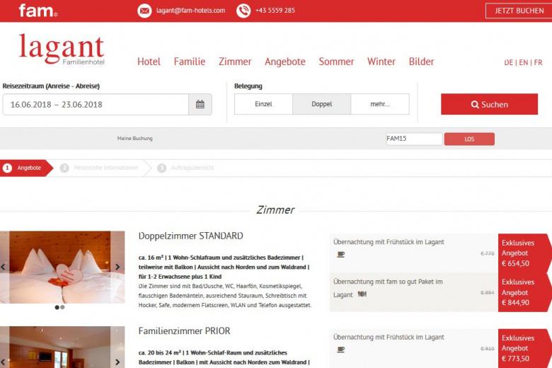 Jubiläums-Rabatt, Familienurlaub in Vorarlberg, Kinderhotel Lagant, Brandnertal