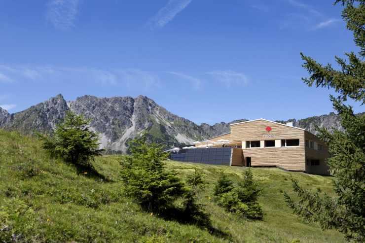 Bergrestaurant Frööd, Burtschasattel, Panoramabahn Brand