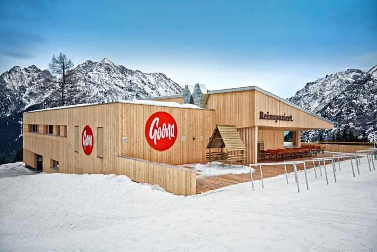 Bergrestaurant Goona, Skigebiet Brand, Vorarlberg