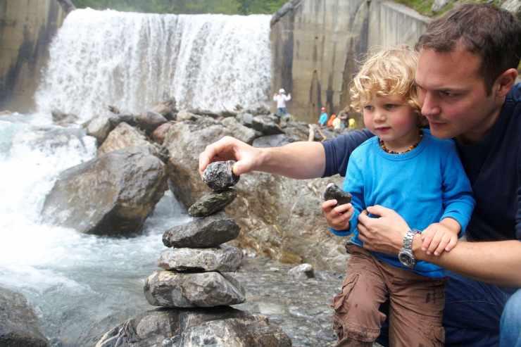Eltern-Kind-Erlebenisse im Urlaub