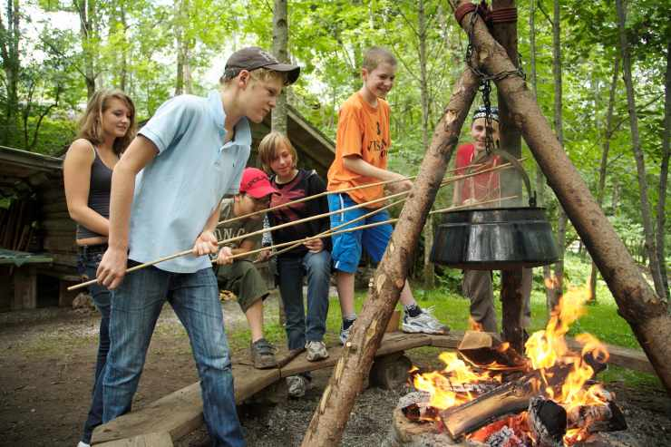 Teenagerbetreuung und Abenteuerprogramm, Familienhotel Lagant, Brand, Vorarlberg