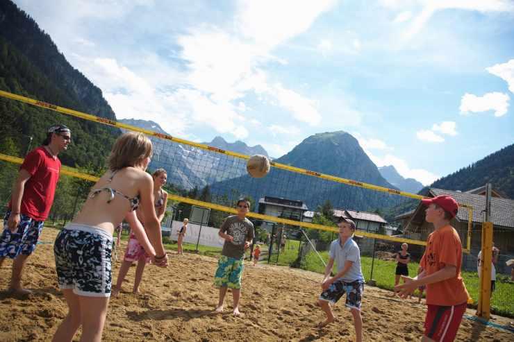 Badeurlaub in Vorarlberg, Beachvolleyball, Badesee