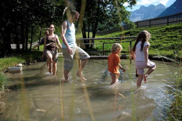 Naturaktivitäten im Familienurlaub, Urlaub in Österreich