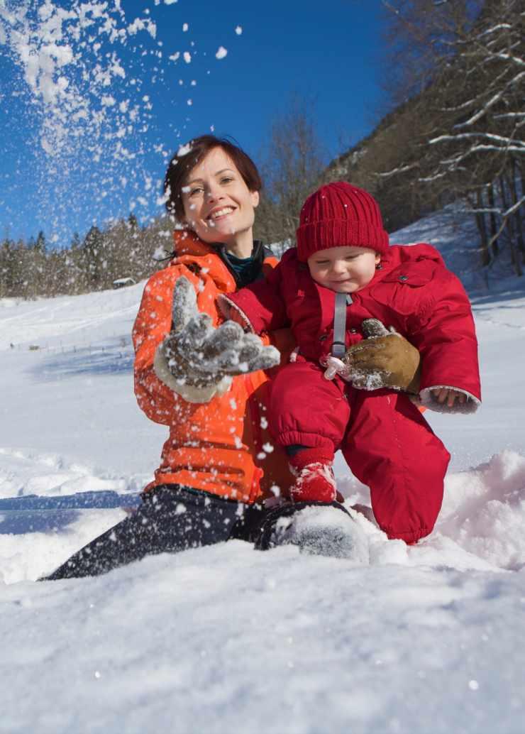 Winterurlaub im Schnee, Skiferien im Kinderhotel