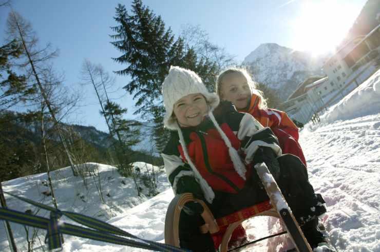 Winterferien in Vorarlberg, Österreich