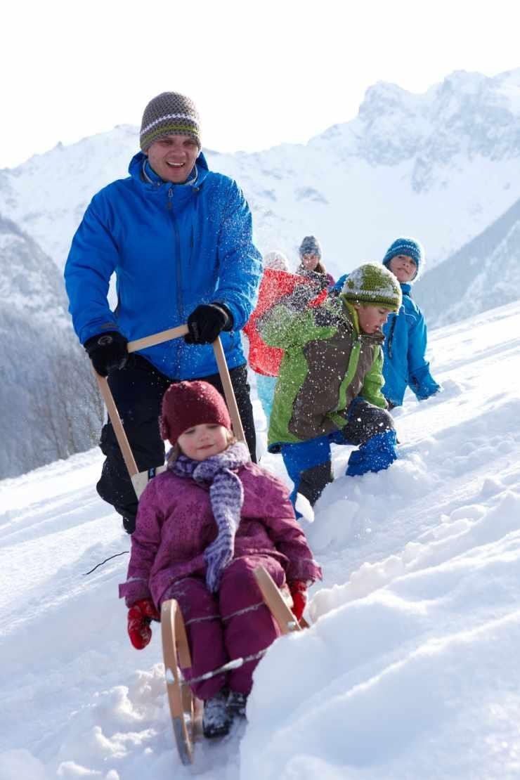 Winterferien in den Berge, Hotel Lagant