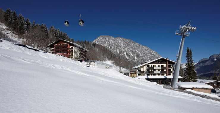 Winterurlaub in Vorarlberg, Österreich