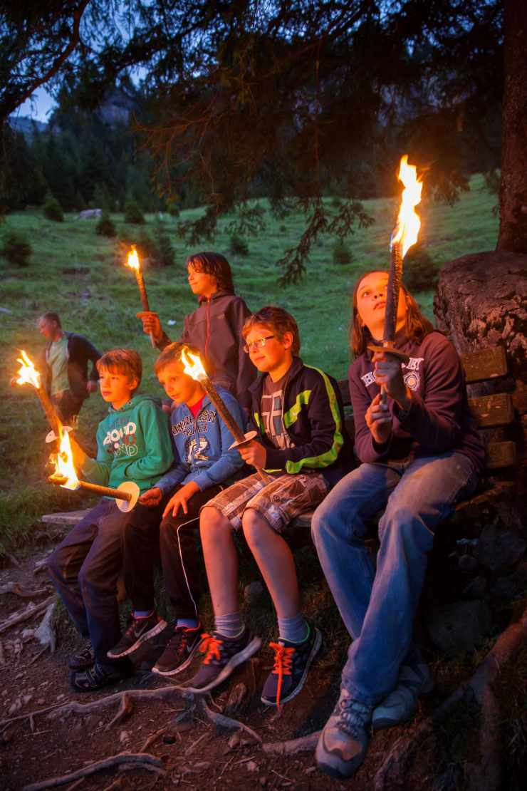Abenteuerprogramm, Teenagerbetreuung, Familienhotel mit Kinderbetreuung
