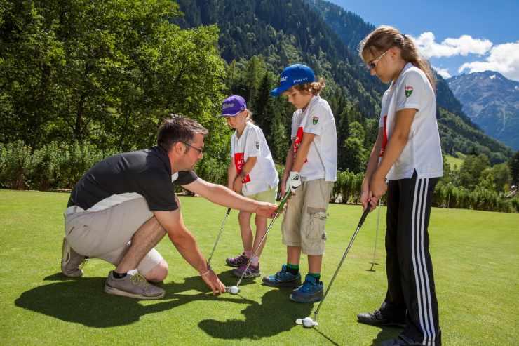 Golfurlaub in den Bergen, mountain golf, Golfhotel mit Golfplatz