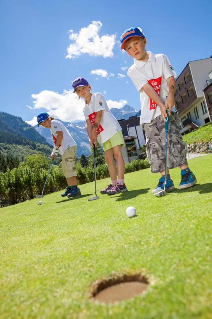 Golfplatz Brand, Golfurlaub in Vorarlberg