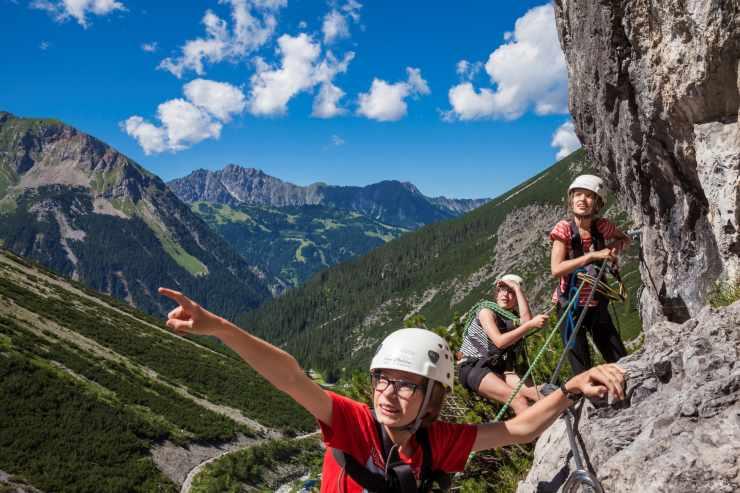 Aktive Sommerferien, Klettern für Anfänger und Fortgeschrittene