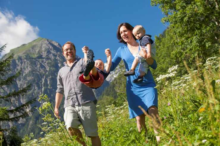 Wanderrouten für die Familie in Vorarlberg