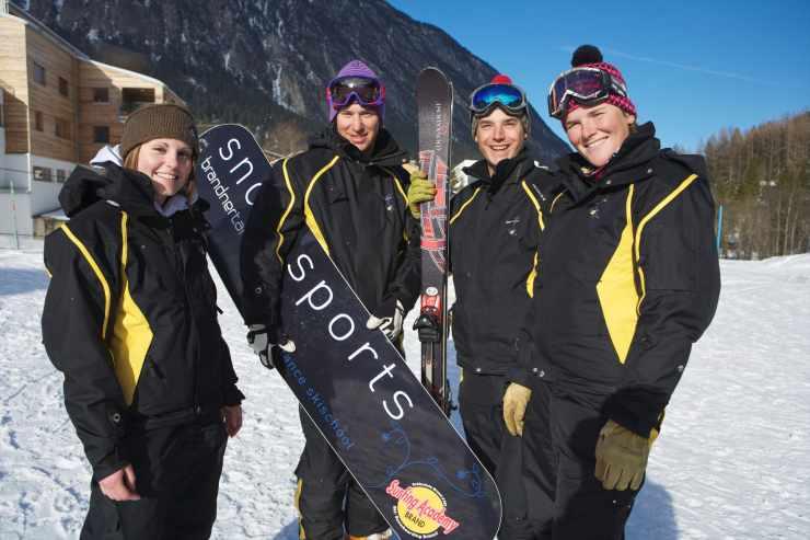Familienhotel mit Skikurs, direkt an der Skipiste
