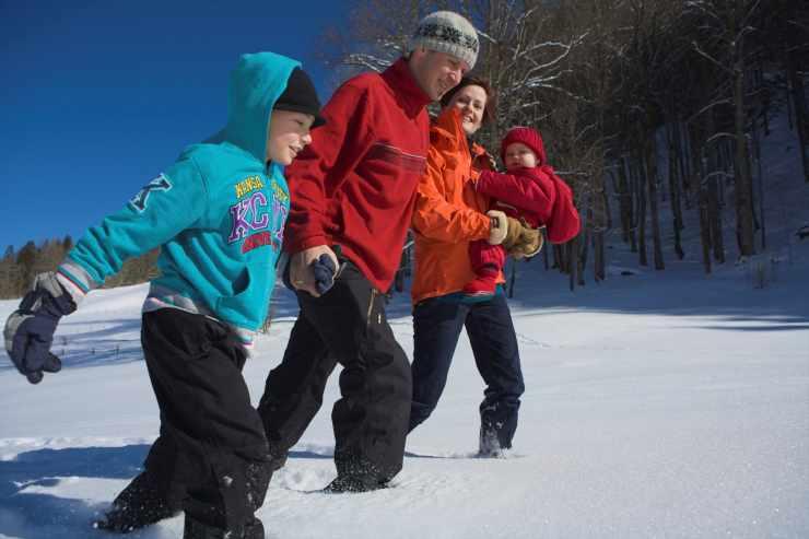 Winterimpressionen, Winterurlaub im Kinderhotel Lagant