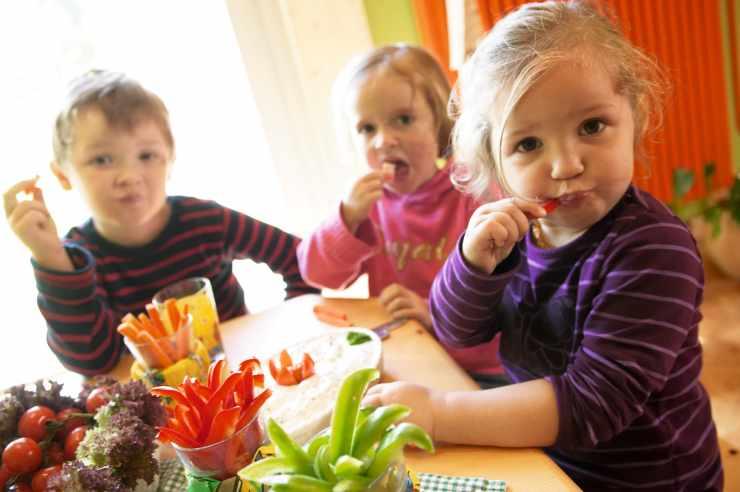 Kinderrestaurant im Familienhotel Lagant