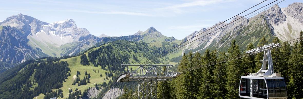 Bergpanorama Brandnertal, Familienurlaub in Vorarlberg