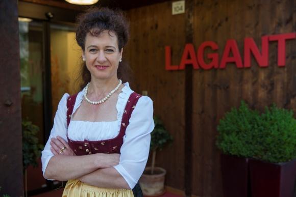 Hotel Lagant Gastgeberin Sonja Feurstein
