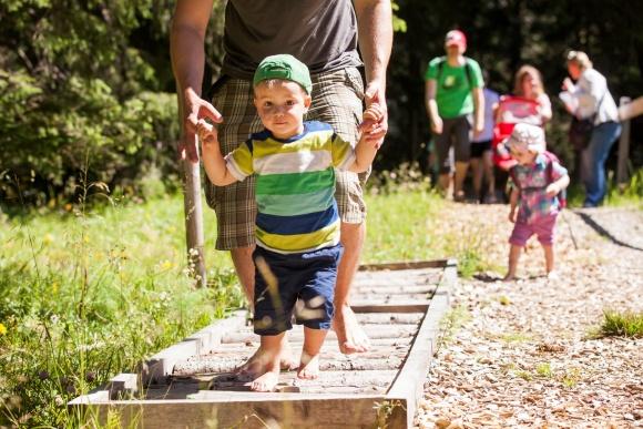 Gemeinsame Familienerlebnisse, Sommerurlaub in Vorarlberg