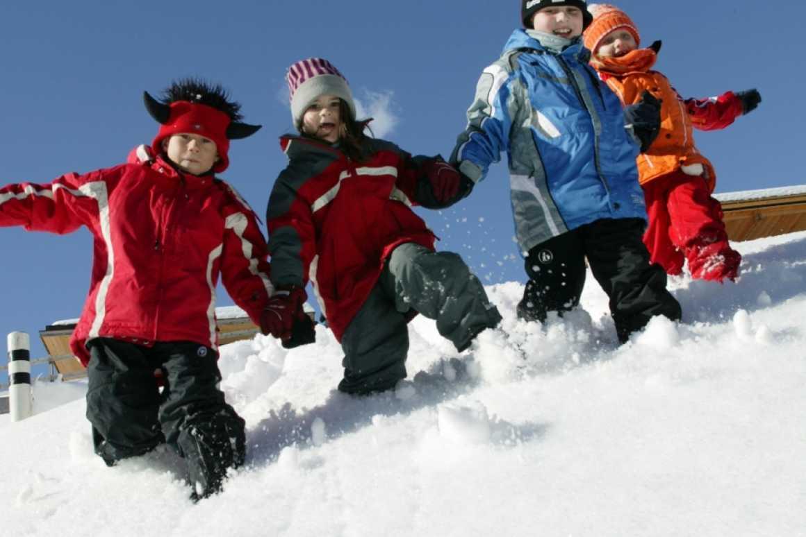Schneevergnügen im Skigebiet Brandnertal in Vorarlberg