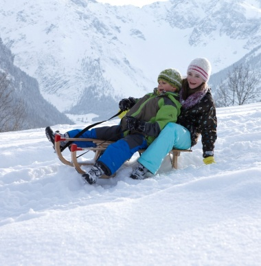 Winterurlaub, Hotel im Skigebiet, Familienurlaub