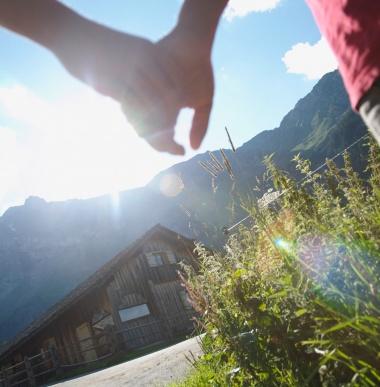 Bring a friend, Vorteilsangebot, Skiferien, Sommerurlaub zu Vorteilspreisen, Hotel Lagant, Vorarlberg