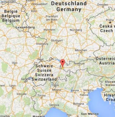 Lage und Anfahrt ins Kinderhotel Lagant im Brandnertal, Vorarlberg