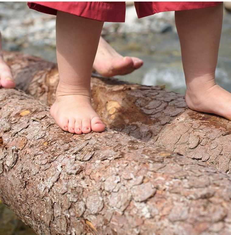 Eltern-Kind-Erlebnisse in der Natur, Familienferien im Kinderhotel Lagant