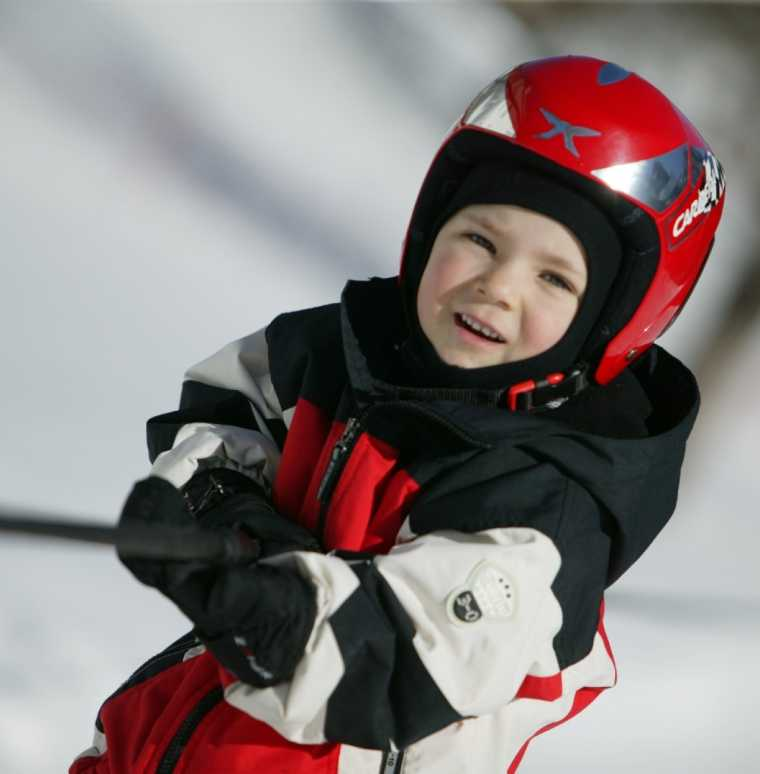 Childrens skiing course in Brand, ski holidays with the family in Austria