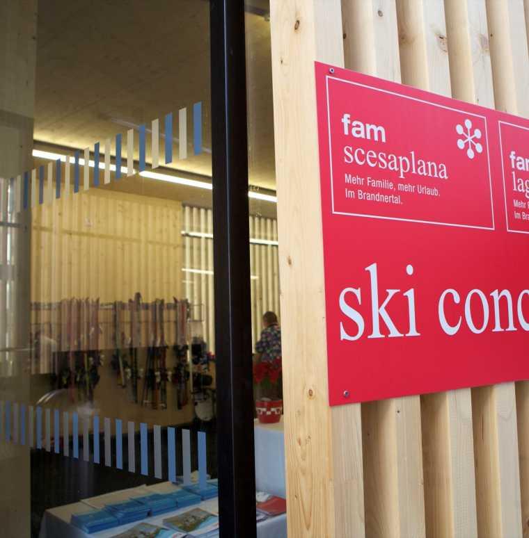 Skiservice, Ski Concierge im Skigebiet Brandnertal, Vorarlberg