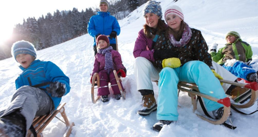 Familien-Winterurlaub in Österreich, Vorarlberg