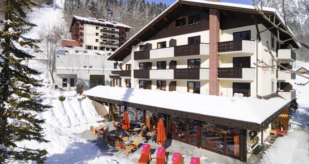 Winterurlaub in Vorarlberg, Kinderhotel Lagant