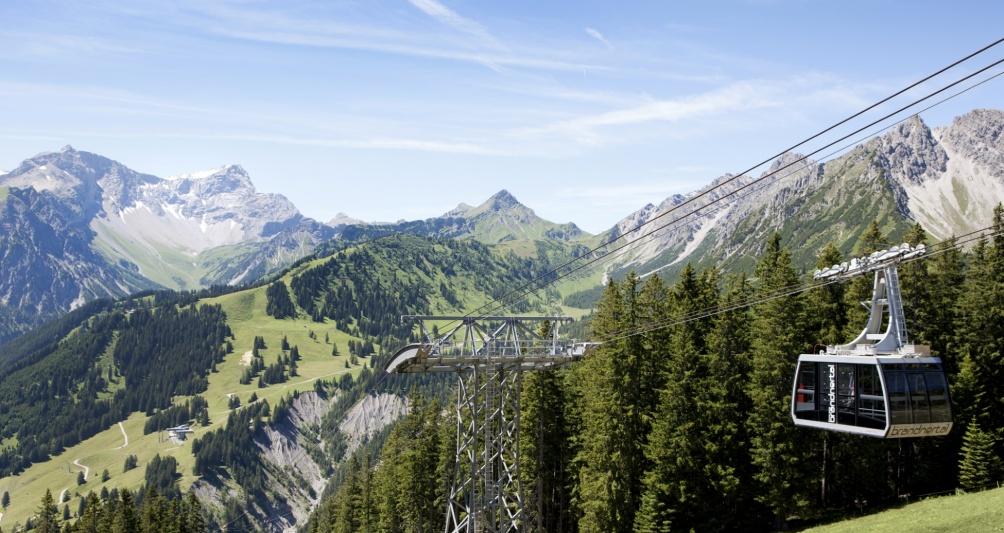 Bergbahnen Brandnertal im Wandergebiet Vorarlberg