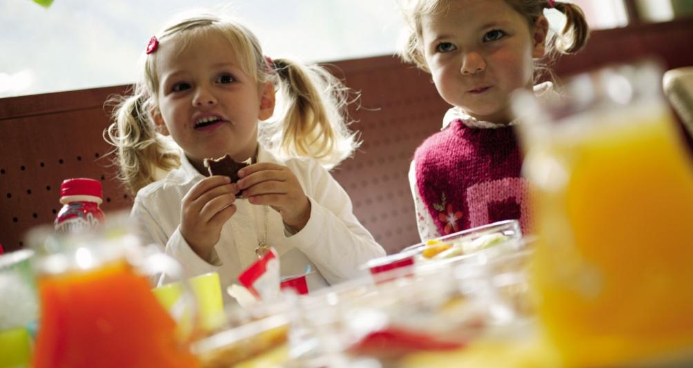 Restaurant Hotel Lagant, Vorarlberg mit Kinderbuffet