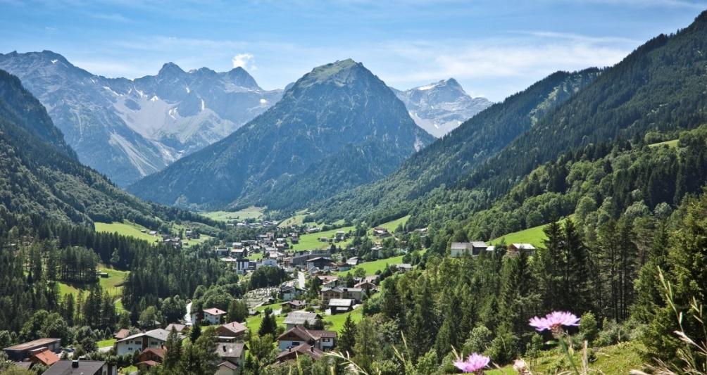 Sommerurlaub in Brand, Österreich, Vorarlberg