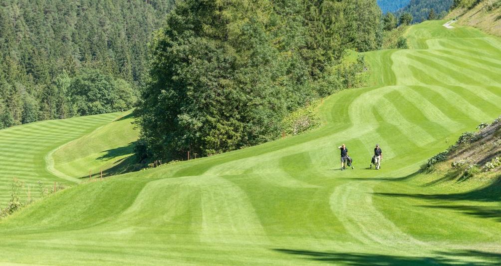 Golfurlaub im Familienhotel im Brandnertal, Vorarlberg