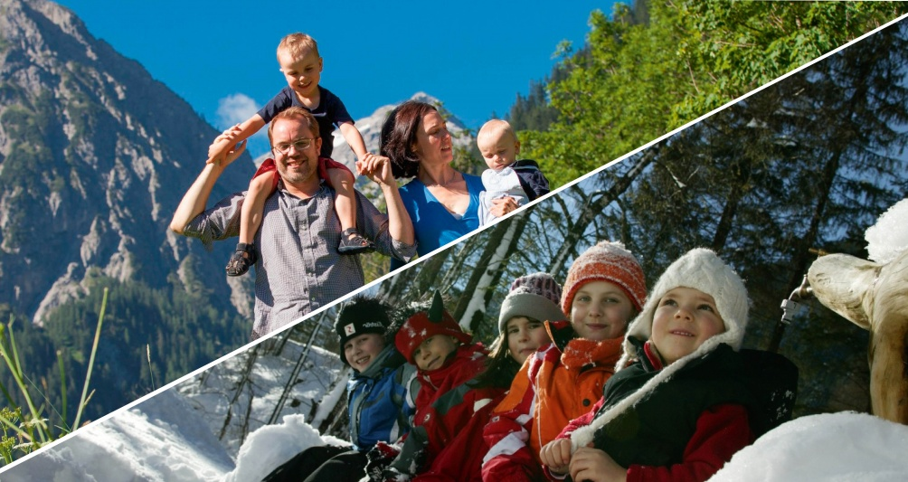 Familienpauschale Familienurlaub im Familienhotel Lagant, Vorarlberg