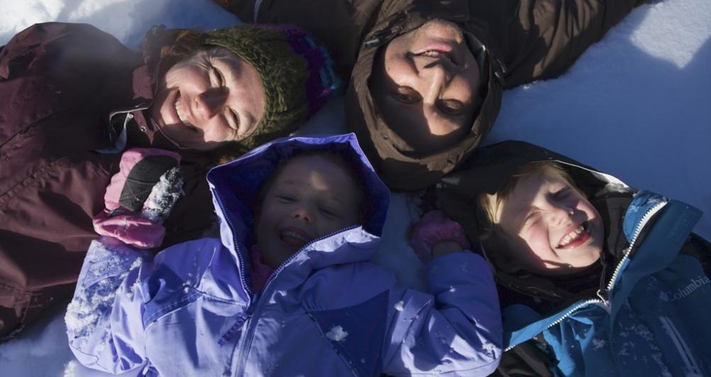 Winterferien im Familienhotel Lagant im Brandnertal, Vorarlberg