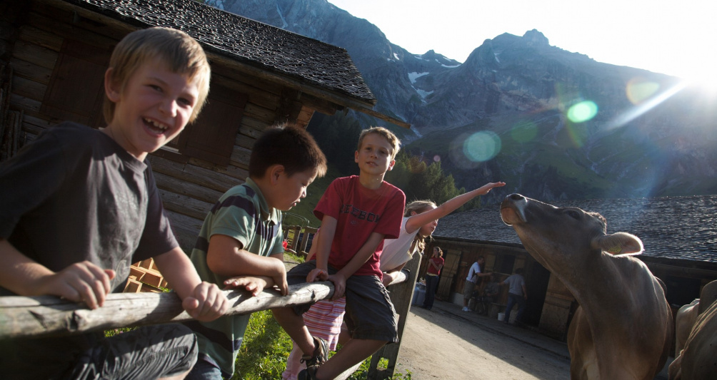 Sommerurlaub im Familienhotel Lagant, Vorarlberg