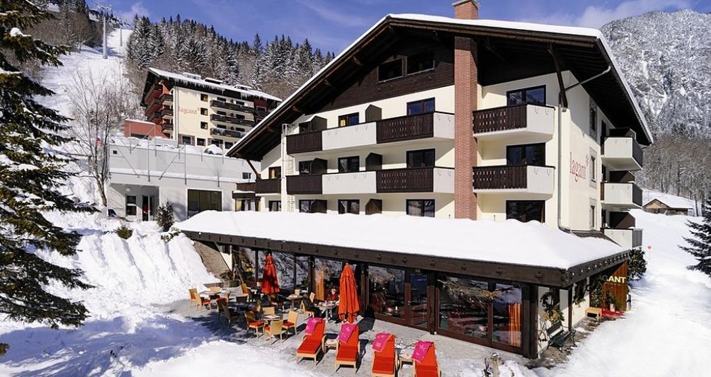 Das Familienhotel Lagant im Winter